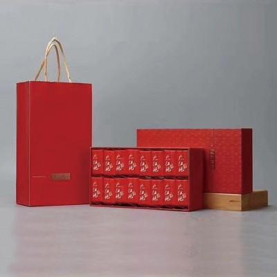 新茶武夷山浓香型大红袍茶叶礼盒装  商务宴会便携伴手礼