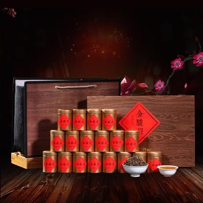 金骏眉礼盒装红茶 浓香型小罐装热销武夷山礼盒散装250g