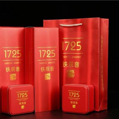 2020新茶铁观音浓香型乌龙茶叶安溪春茶1725散装礼盒装送礼500克