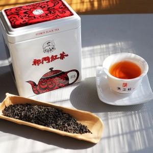 红茶200g核心产区安徽茶叶非遗技艺制作传统祁门工夫红茶茶叶罐装