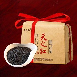 天之红半斤原产地正宗祁门红茶兰花香传统工夫茶奶茶调饮红茶250g