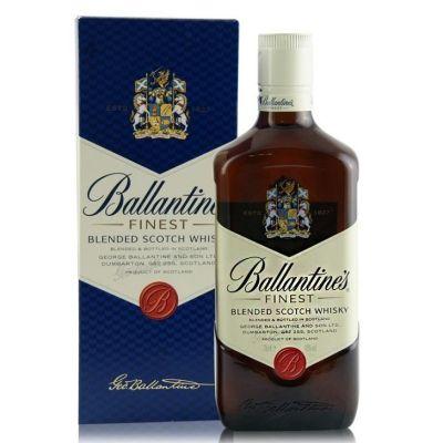 百龄坛特醇进口洋酒 Ballantine's苏格兰威士忌烈酒750ml