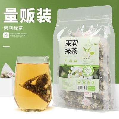 谯韵堂 茉莉绿茶 150g/袋 三角包 茉莉花茶角袋泡茶绿茶花草茶叶
