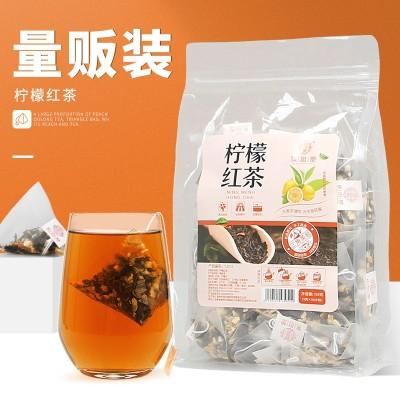 谯韵堂 柠檬红茶 150g/袋 三角包 英式红茶 柠檬红茶茶 茶叶
