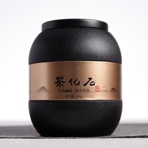 碎银子云南普洱茶2014勐海熟茶 浓糯香茶化石 500克罐装
