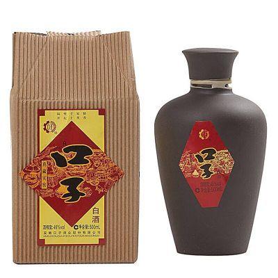 整箱6瓶价 46度口子酒珍藏实窖 500ml安徽兼香型口子窖