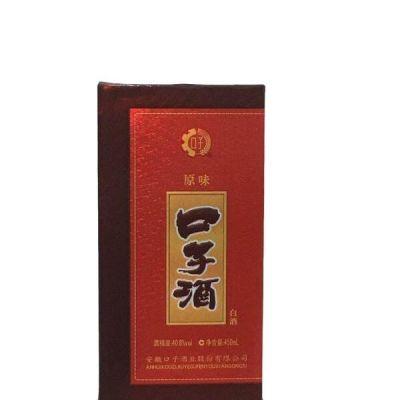 口子窖酒原味40.8度450ml*4瓶兼香型安徽国产白酒送礼口子酒原味