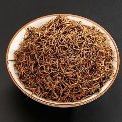 (2020金骏眉)明前特级红茶 黄芽新茶桂圆香 250g罐装单芽无添加