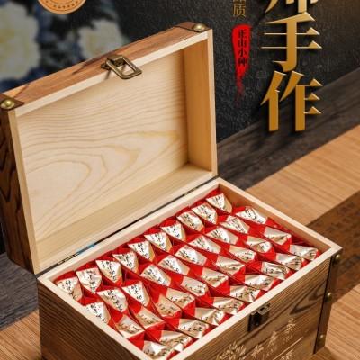 【正山小种红茶木质礼盒装】新茶浓香大气送礼茶叶小包袋装500g