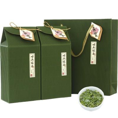 崂山绿茶礼盒装新茶特级春茶叶散装正宗高山云雾青岛特产