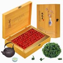 新茶 安溪铁观音茶叶兰花香乌龙茶小包装浓香型礼盒装500g 品香运