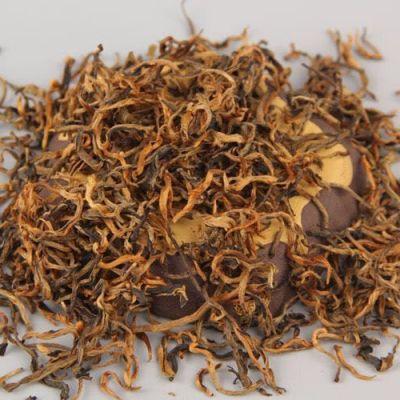 2020春茶凤庆金丝滇红特级浓香型云南红茶茶叶袋装 珍品金芽250g