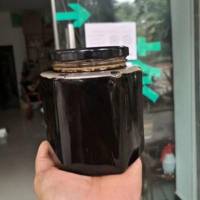 云南傣家自制黑花蜜,黑蜂蜜,野生团花蜜汁罐装 500克养身保健食品