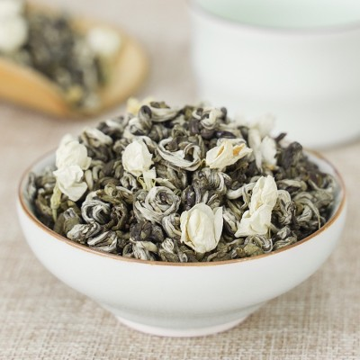 茉莉花茶 香螺茶叶 500克包装 茶茶叶批发厂家直销 茉莉花茶茉莉雪螺