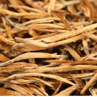 云南滇红茶 2020年理条大芽金针500克凤庆滇红茶金芽 全单芽 条