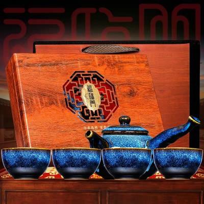 过节送礼 武夷山红茶正山小种茶叶特级浓香型高档茶礼盒装 送茶具