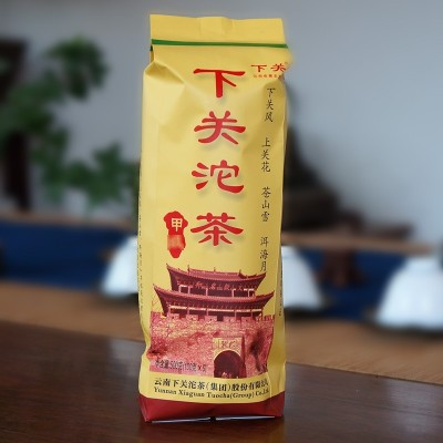 云南普洱茶下关沱茶2014年下关甲沱便装生茶500g干仓茶叶正品