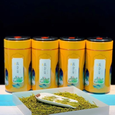安吉白茶黄金芽2020新茶 正宗黄金芽雨前特级罐装黄金牙绿茶