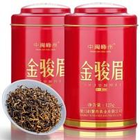 买一送一新茶武夷山桐木关礼盒罐装金骏眉茶叶红茶袋装金俊眉