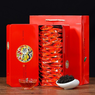试喝茶叶 新茶武夷山正山小种红茶 浓香型袋装 礼盒装茶叶 茗臻醇