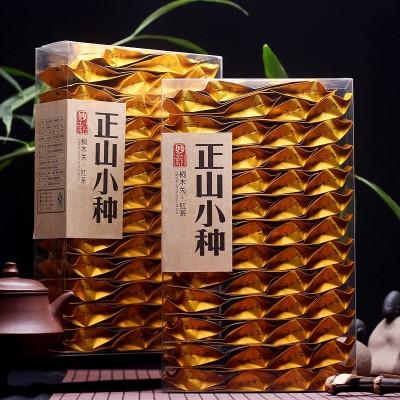 2020年春茶新茶共500克 正山小种红茶茶叶武夷山 袋装小包浓香型