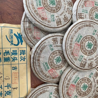 03龙园号易武野生茶选用落水洞野生古树茶原料,茶气足挂杯香,回甘好耐泡