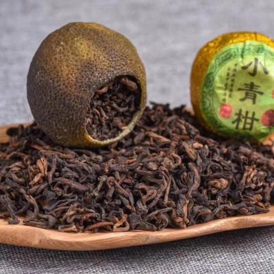 英德红茶加薪会陈皮小青柑就是经典一斤足50棵