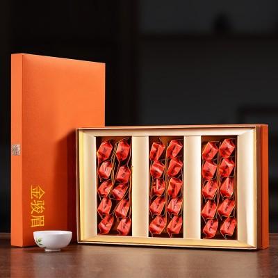 武夷金骏眉2020新茶茶叶礼盒装厂家直销公司定制茶叶礼品茶