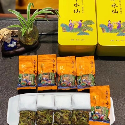 唯一手工纸包紧压乌龙茶——漳平水仙结合闽北岩茶和闽南铁观音的工艺