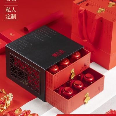 金骏眉茶叶红茶特级正宗武夷山蜜香型特级金俊眉礼盒装小罐装270g