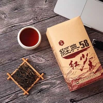 凤牌经典58(380克)2020年春茶, 特级工夫 滇红茶