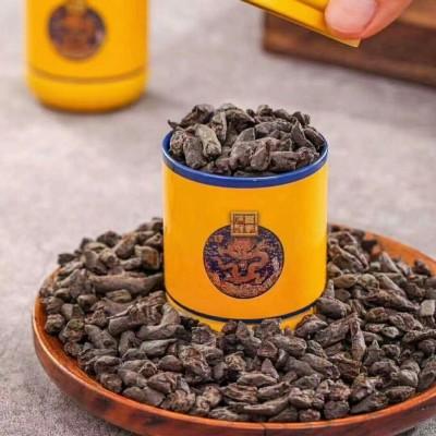 云南普洱10年糯米香茶化石碎银子普洱茶熟茶散茶古树茶叶500克礼盒装