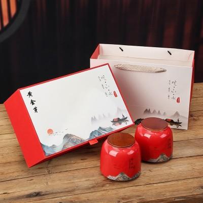 正宗安吉白茶2020新茶春茶特级黄金芽茶叶明前珍稀绿茶礼盒装送礼