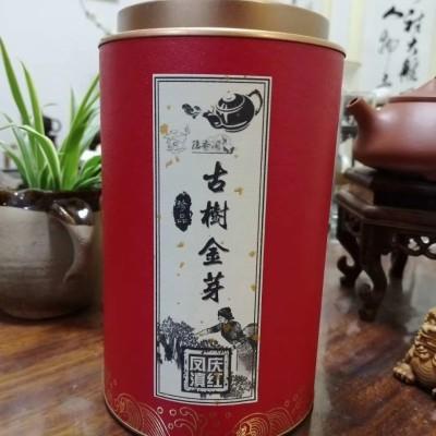 滇红古树金芽罐装