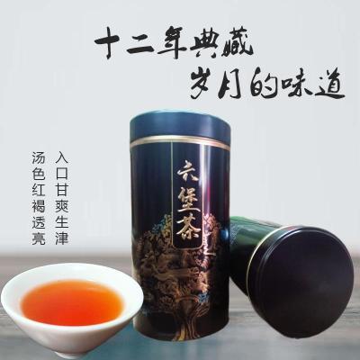 12年六堡茶陈香味黑茶祛湿茶养胃茶老树茶广西六堡茶