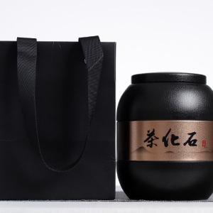 2009年糯香茶化石   精致铁罐 (500克)包邮