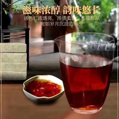 420/5块,买五送五老茶头茶砖:滋味浓醇,韵味悠长,汤色红浓透亮