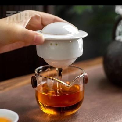 祁门野生红茶祁红粽茶高端礼盒瓷罐装外送纯野生覆盆子滋阴补肾。