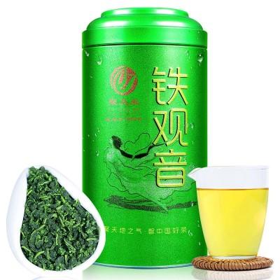送茶具安溪铁观音茶叶2020新茶散装铁观音浓香茶叶250g罐装