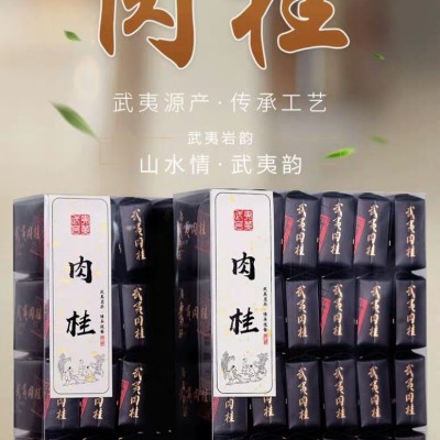严选 武夷山正岩肉桂大红袍茶叶乌龙茶春茶岩茶袋装散装灌装手工茶500g