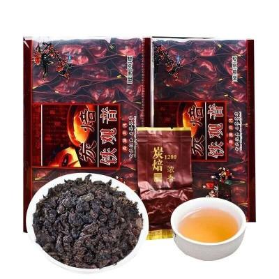 安溪陈年老茶碳培高山传统铁观音熟茶叶炭烘焙浓香型铁观音500g