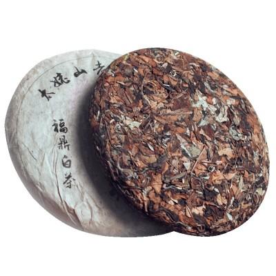 福鼎白茶春季陈年老白茶寿眉白茶饼礼盒装非散装特级白牡丹王茶叶