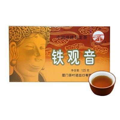 中粮海堤茶叶旗舰店XT800散装口粮茶125g浓香型铁观音茶叶乌龙茶