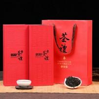 新茶武夷乌龙茶岩韵浓香型大红袍茶叶肉桂礼盒装袋装大红袍250克