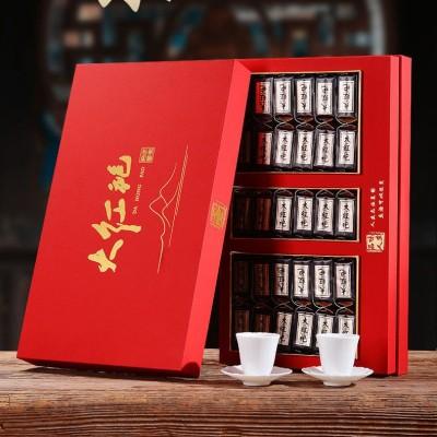 新茶武夷山大红袍茶叶武夷岩茶乌龙茶特级 正岩水仙/肉桂茶礼盒装