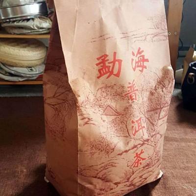 2500克,2006年勐海老树熟茶