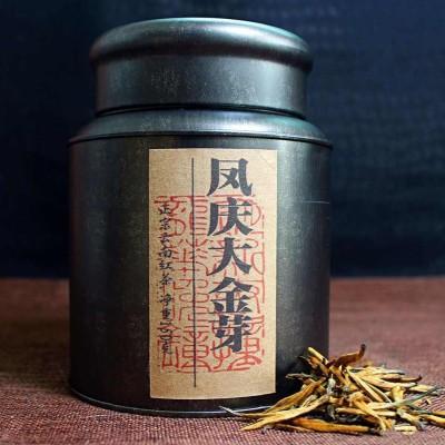 150克1罐,2020年凤庆滇红大金芽