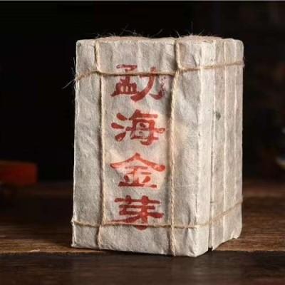 1000克,2009年勐海金芽熟茶