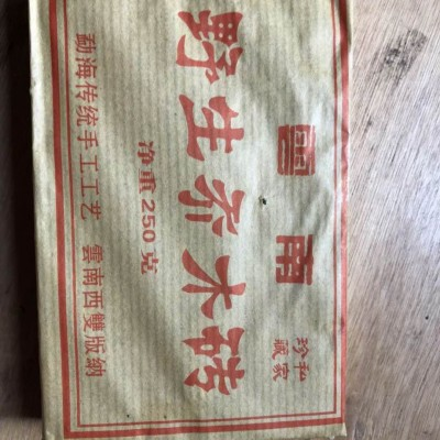 云南省西双版纳勐海县野生乔木砖
