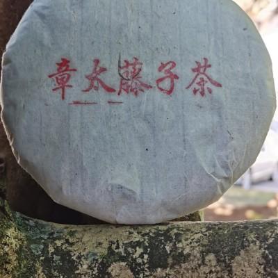 普洱茶 2017年头春头采·茶王 千年古树野生茶藤子茶 200克生饼
